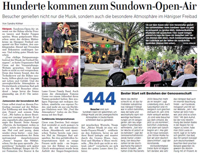 Presse Echo sundown 2017